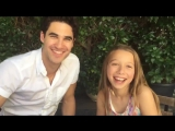 @bway_dreams: Avery Rehl is pretty excited for showcase, and apparently Darren Criss is too! #DreamersTakeNYC