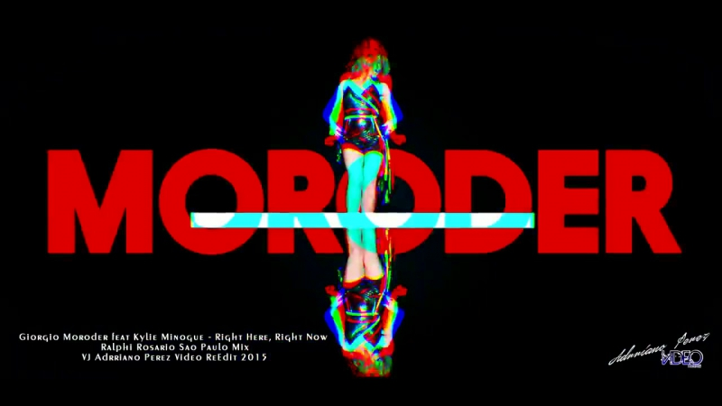 Giorgio Moroder feat Kylie Minogue - Right Here, Right Now (Ralphi Rosario Sao Paulo Mix)
