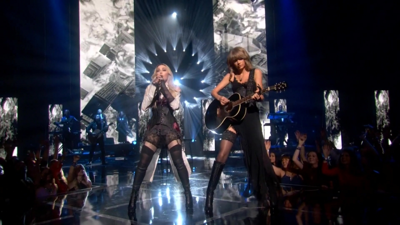 268) Madonna Taylor Swift - Ghosttown (iHeart RADIO Music Awards 29.03.2015) HD 2016 (A.Romantic)