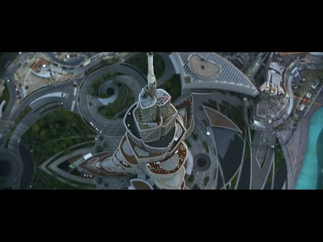 Полеты над Дубаем. Воздушный экстрим.