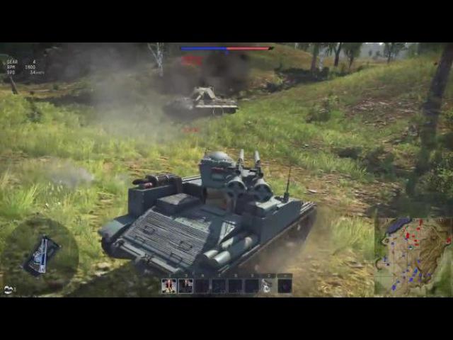 War Thunder Type 60 SPRG - Рис,Саке и два ствола