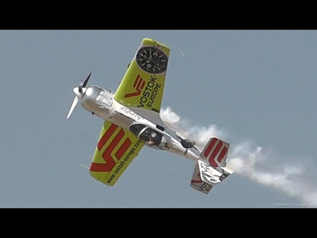 Incredible Sukhoi Su-31 Aerobatic Airshow Flight!-Cobras, loops, rolls, spins, lowpasses! AFW2013
