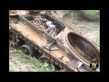 Чечня, Аргунское ущелье. Уничтоженная техника.