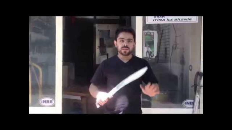 Yatagan kılıcının öZellikleri keskinlik güçü türk kılıcı