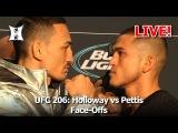 UFC 206 Staredowns ufc 206 staredowns