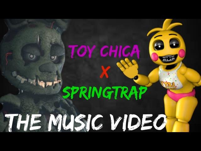 Toy Chica x Springtrap Music Video Dark Horse E.T