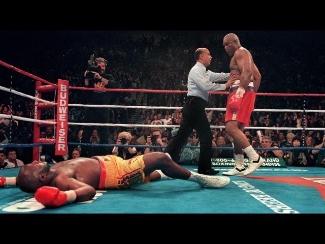 George Foreman vs Michael Moorer Highlights