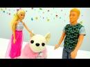Игры для девочек с куклами БАРБИ и КЕН. Куколка Барби нашла Чичилав. Видео про к ...