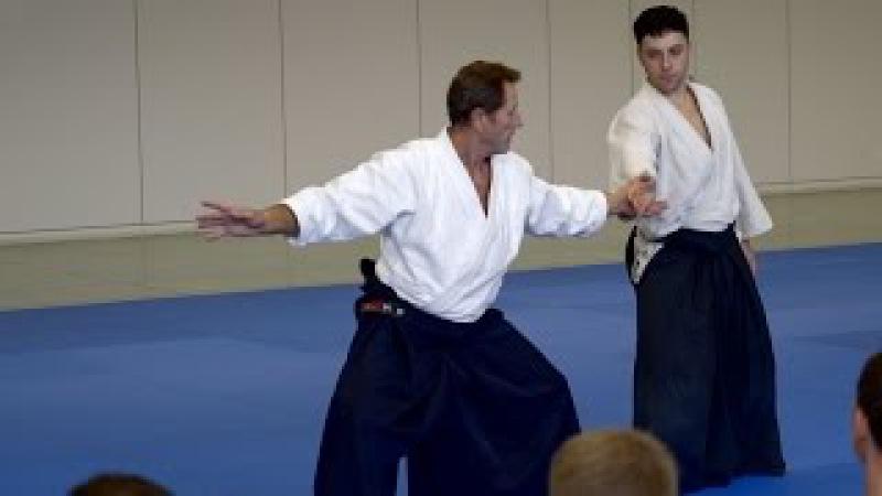 Aikido: Christian Tissier - Sankyo to Koshinage