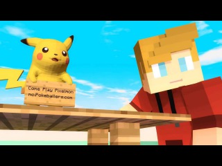 Minecraft Pokemon Song - Pikachu!
