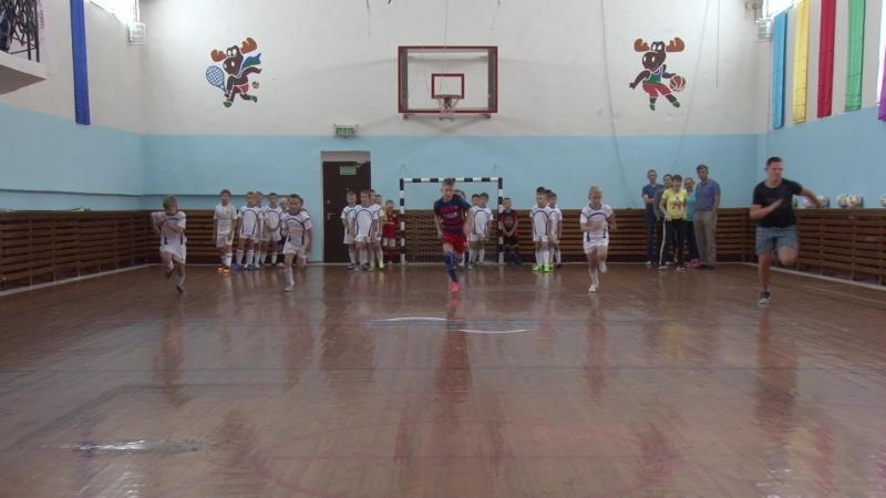 Начало учебного года в ДЮСШ по мини-футболу № 1 (Эжва, РОЦ)