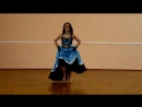 Ciganskii tanec v ispolnenii krasivoi ciganki