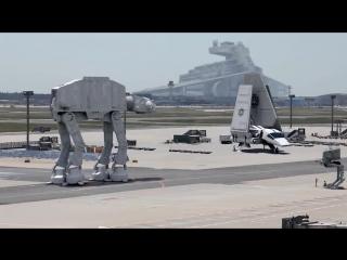 высадка имперской техники