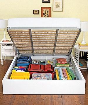 как сэкономить место для игрушек и книг