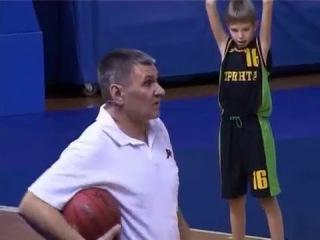 Обучение основным техническим приёмам игры в баскетбол в группах начальной подготовки