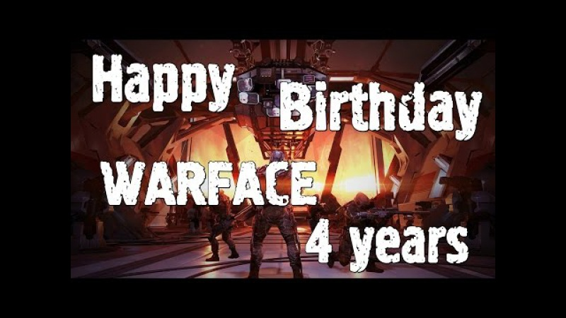 PozitivMC Happy Birthday Warface 4 years