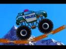 Монстер Трак Полиция Мультики про машинки Police Monster Truck