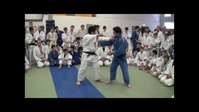 Tomoe juji by Komuro Koji (kenka yotsu)