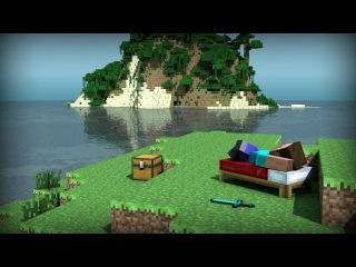 8 MineCraft Путешествие на край света - Добыча алмазов и иридия.