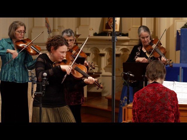 Vivaldi Four Seasons: Winter (L'Inverno), complete; Cynthia Freivogel, Voices of Music 4K RV 297