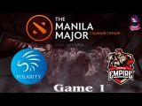 Polarity vs Team Empire #1 The Manila Major EU (04.05.2016) Dota 2