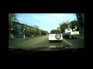 Страшное ДТП в Комсомольске-на-Амуре попало на видео