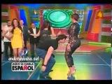 Ana Carolina vibrando las chapas