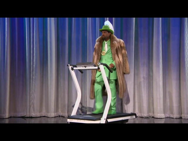 Pimp On A Treadmill Stayin' Alive