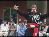 Смена караула. Индия и Пакистан. smena karaula. India Pakistan guard changing