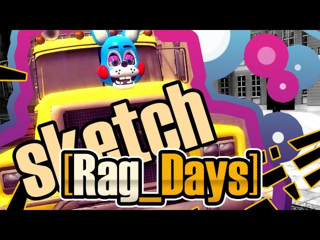 16 [Rag_Days] Sketch - Анальное возмездие (FNAF Gmod show)
