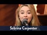 Sabrina Carpenter Performs