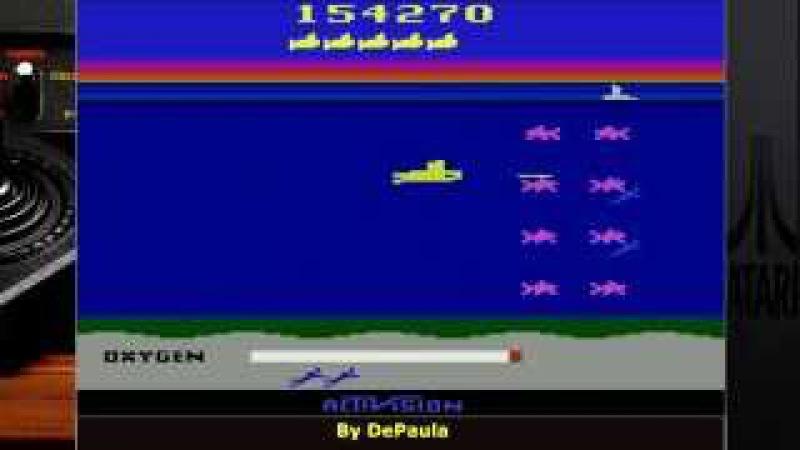 Seaquest gameplay Atari 2600