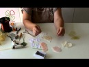 МК Роза из ткани за 30 минут без инструментов. Полная версия