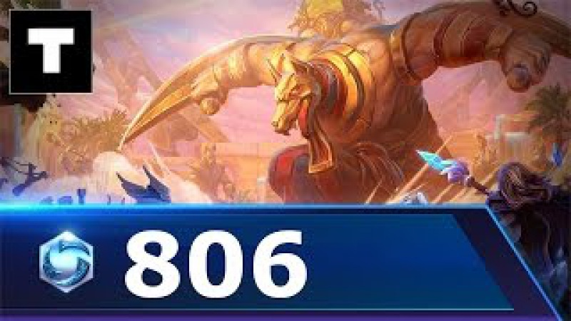 Heroes of the storm 806 Sylvanas - Sky Temple!