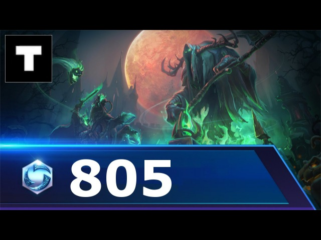 Heroes of the storm 805 Sylvanas - Towers of doom!