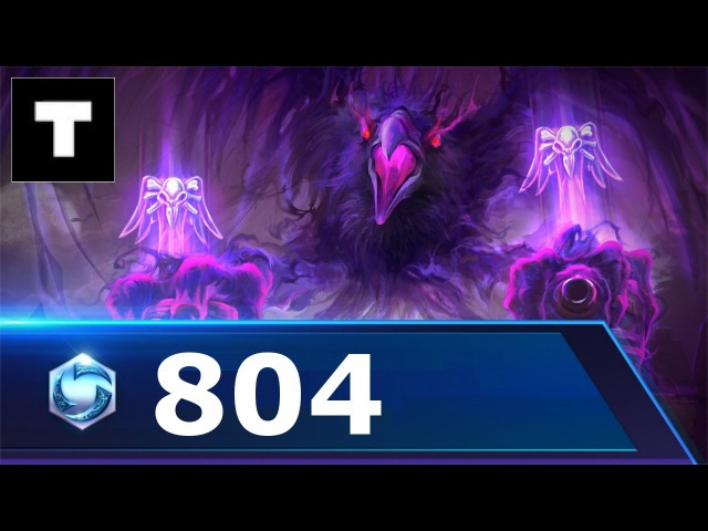 Heroes of the storm 804 Sylvanas 1HP - Cursed hollow!