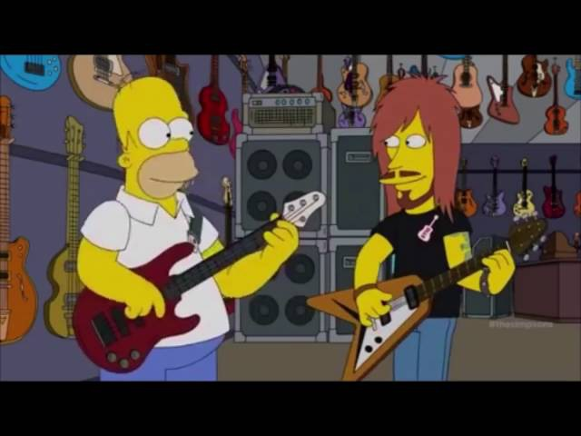 Homer Simpson Plays Meshuggah.