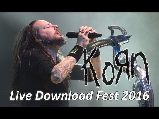 KORN - Live Download Festival 2016 [FULL HD]