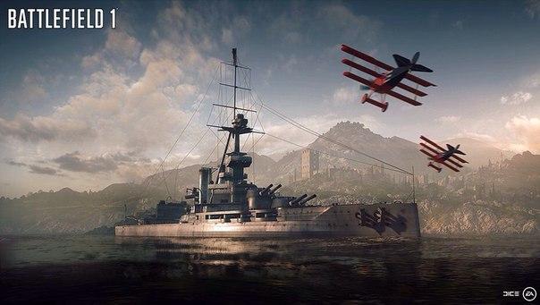 Задача фанатов Battlefield 1 - ловить голубей