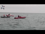 Поисково-спасательные работы на месте крушения Ту-154