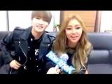 [25.10.2016] 1theK MONSTA_X I.M. & SISTAR Hyorin