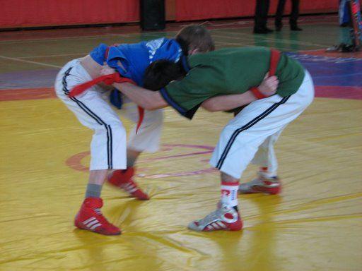 Борцы из станицы Сторожевой призеры открытого турнира по борьбе на поясах