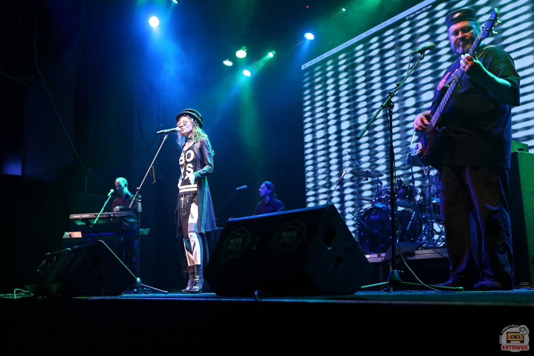 концерт Ольги Арефьевой и группы «Ковчег»