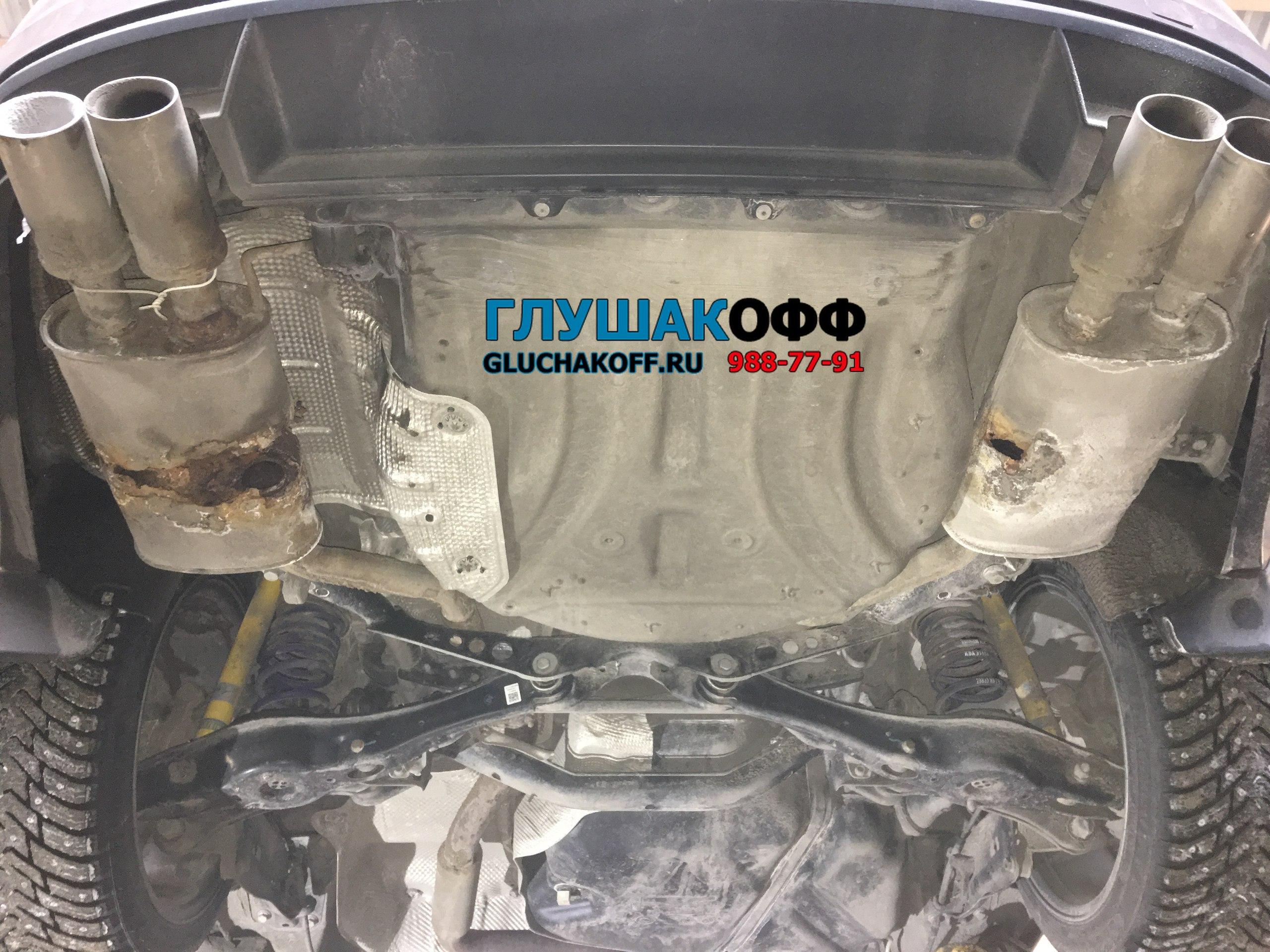 Skoda Octavia A7 - Custom-тюнинг выхлопной системы
