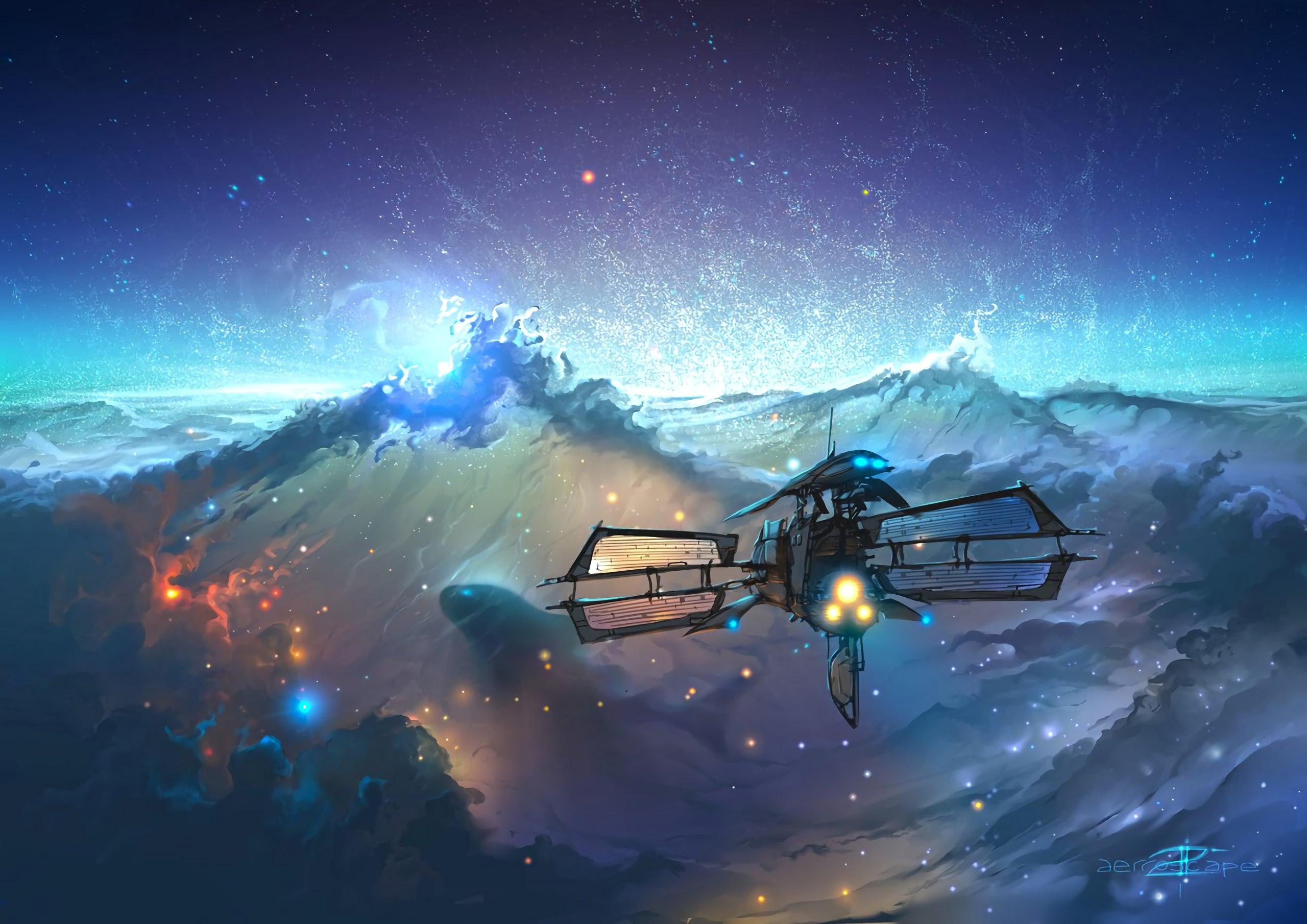 Космическое путешествие Aerroscape