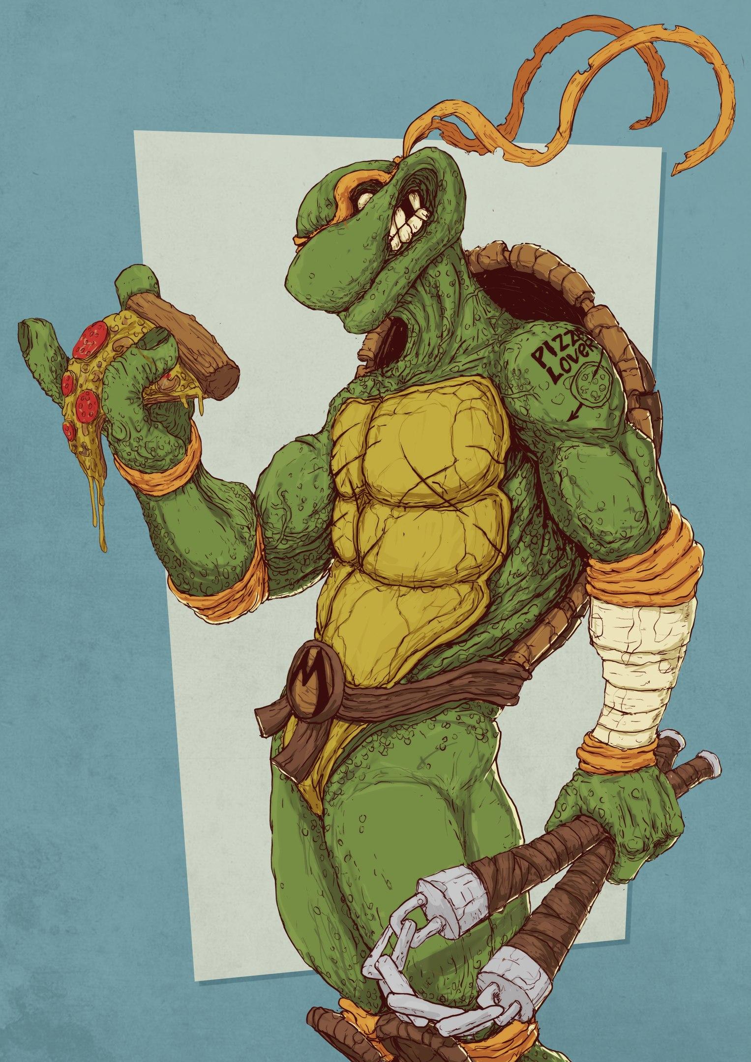 Микеланджело (Michelangelo) TMNT