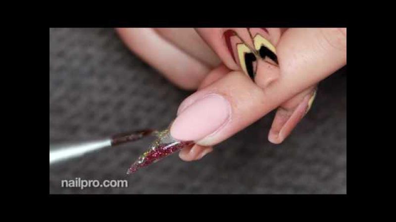 Как наращивать ногти LED-гелем. Стилеты с дизайном. Cuccio Pro T3.