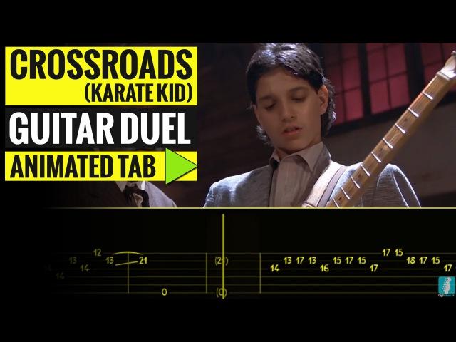 CROSSROADS - GUITAR DUEL - Animated Tab