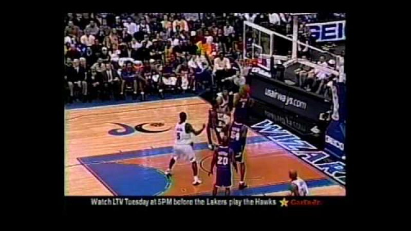 Lakers @ Wizards, 2004 (Kobe triple double)