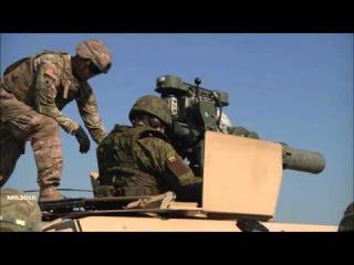 ПТРК BGM 71 TOW на бронеавтомобилях Хамви